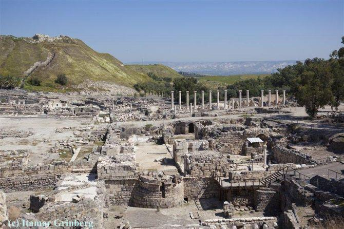 Sites We Visit - Beit She'an - beit shean 02-