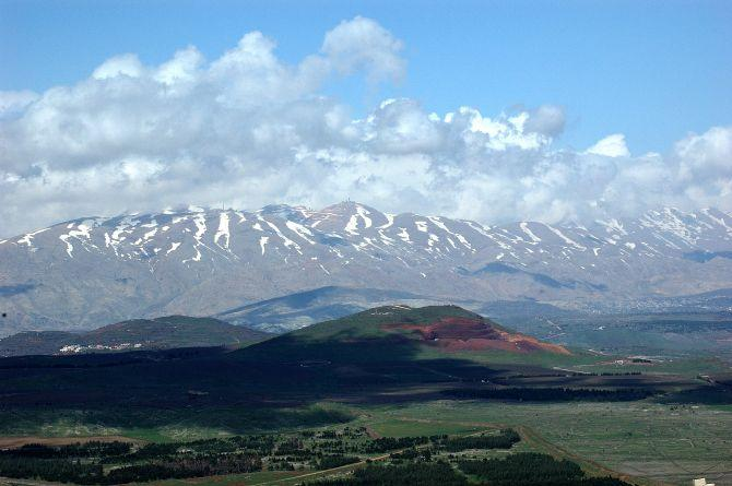 Sites We Visit - Golan Heights - monte bental-